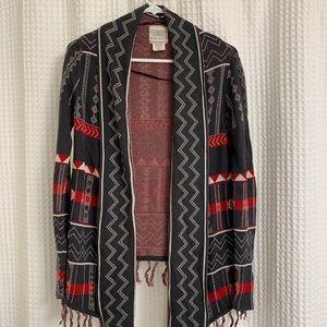 Billabong patterned cardigan
